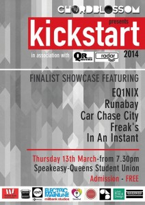 chordblossom kickstart 2014 final showcase poster