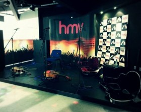 hmv belfast breaking tunes stage
