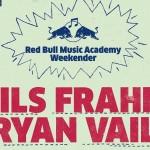 nils frahm gig poster - banner fit