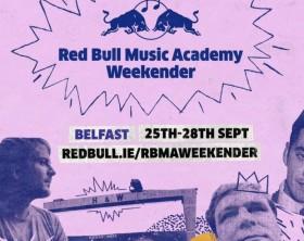 red bull music academy belfast weekender