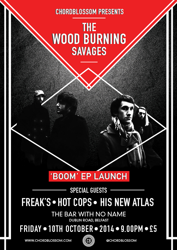 Chordblossom Presents: The Wood Burning Savages EP Launch