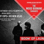 wood burning savages boom ep launch site cover photo