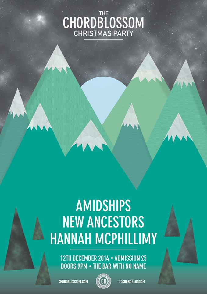 chordblossom christmas party - amidships new ancestors hannah mcphillimy