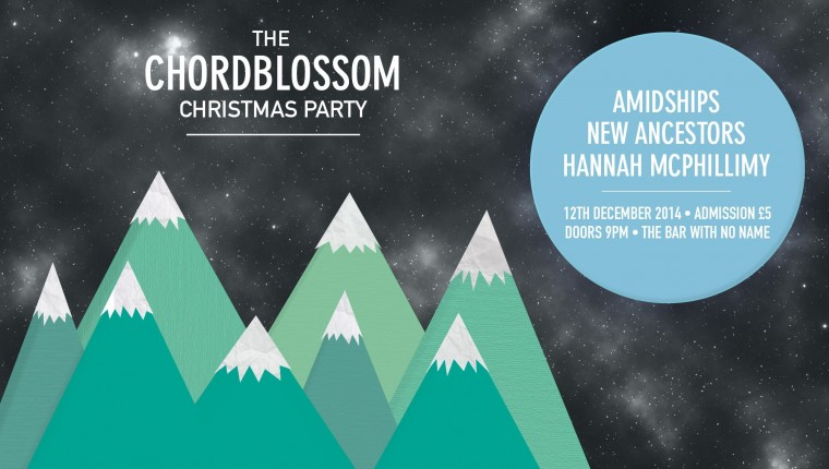 chordblossom christmas party - amidships website header