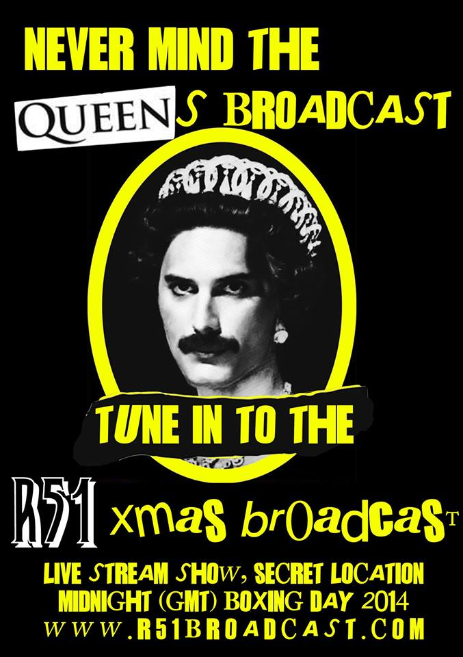 r51 xmas broadcast poster