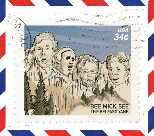 bee mick see - belfast yank album cover