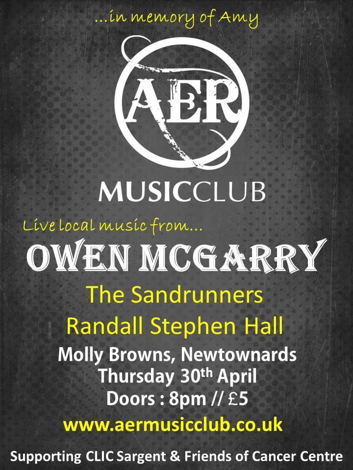 aer music club owen mcgarry