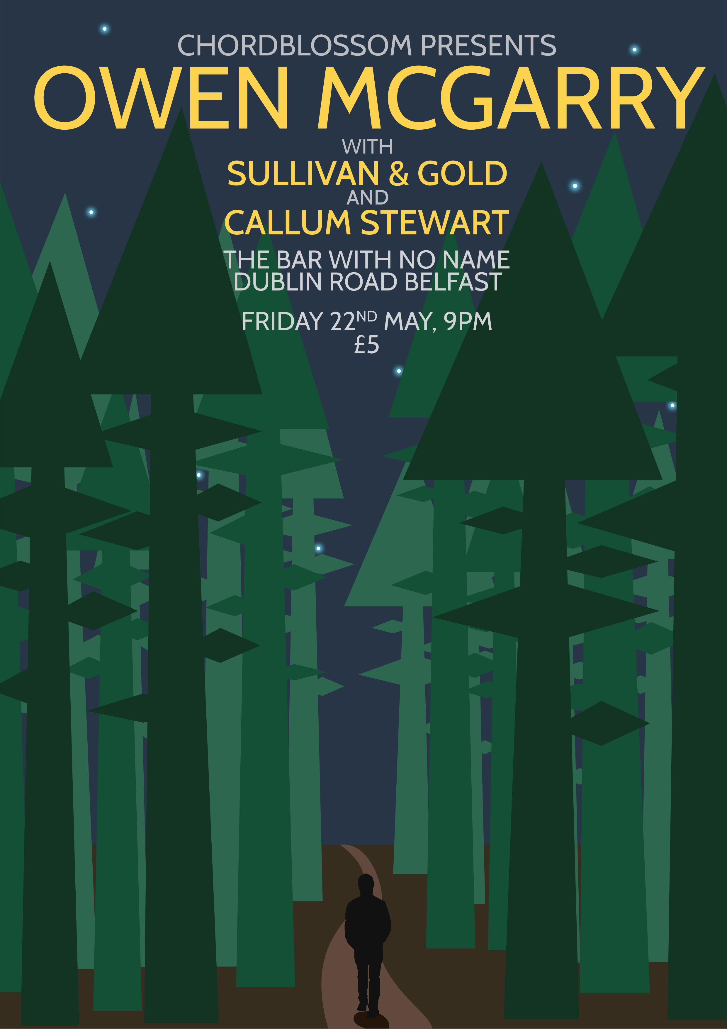 Chordblossom Presents: Owen McGarry South EP Launch with Sullivan & Gold and Callum Stewart