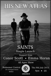 His New Atlas Single Launch Poster - Full