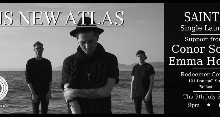His New Atlas Single Launch Poster - Social Media
