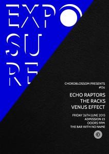 chordblossom exposure #06 gig Poster - Full Version