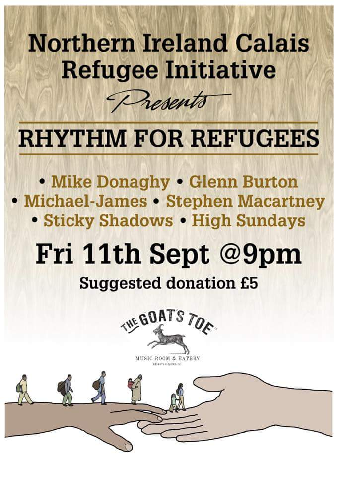rhythm for refugees poster