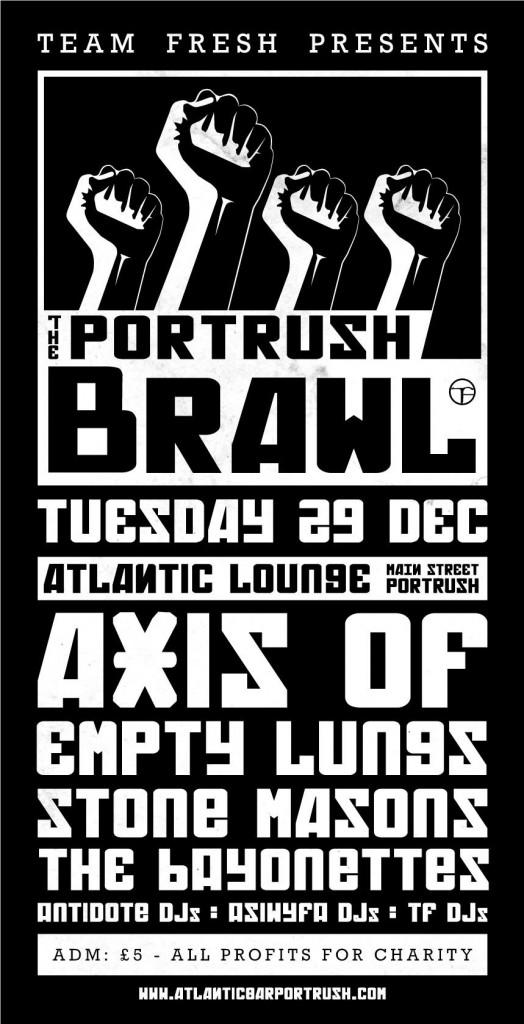 Portrush Brawl 2015 lineup
