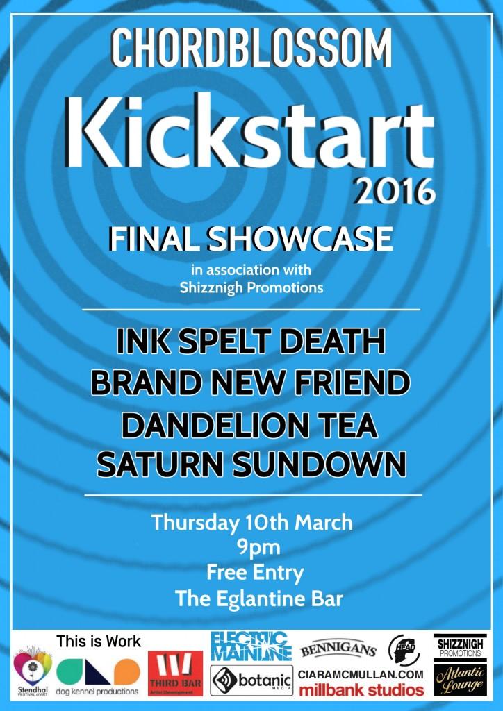 Kickstart 2016 final showcase poster