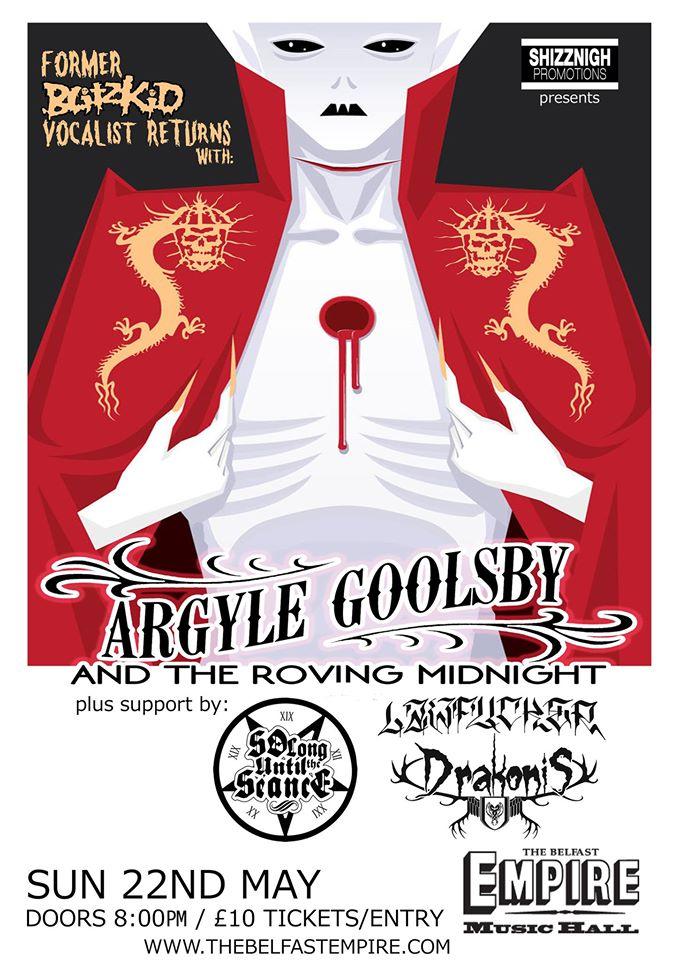 Argyle Goolsby gig
