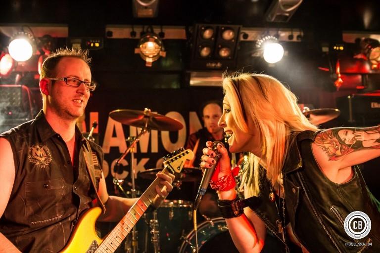 Safire at the Diamond Rock Club - Photo by Liam Kielt Photography