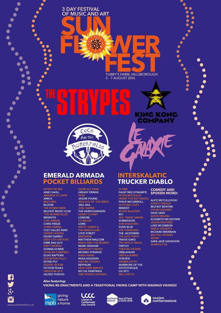 sunflowerfest 2016 poster