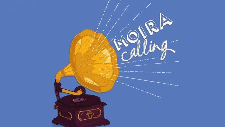 moira calling poster - logo