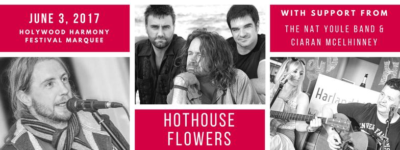 hothouse flowers holywood harmony festival