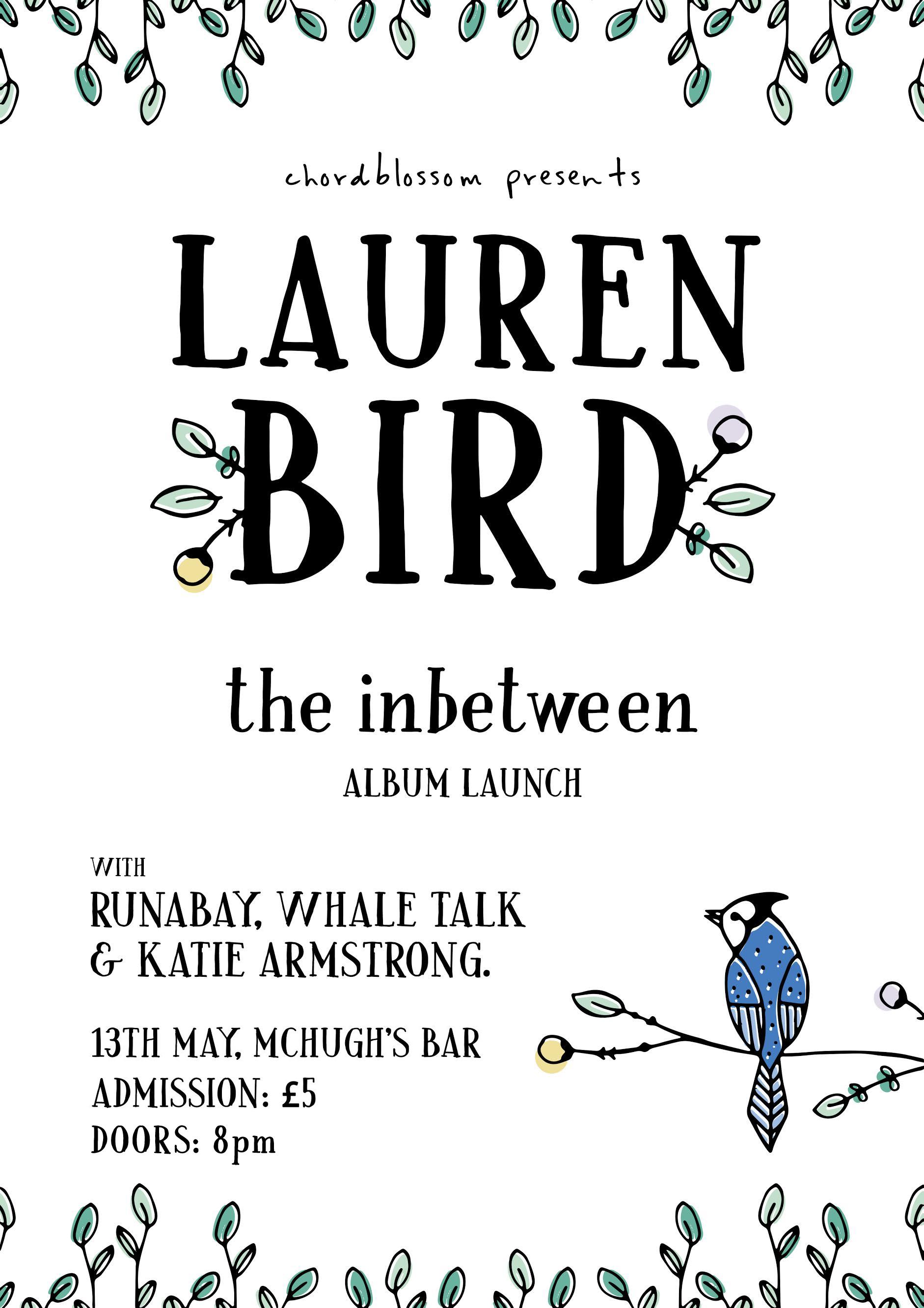 Lauren Bird The Inbetween Album Launch Chordblossom