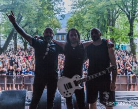 The Crawling Metal Days 2017 On Stage