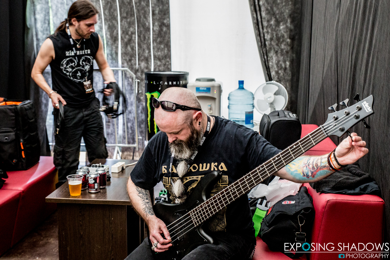 The Crawling - Metal Days 2017 - Preparations