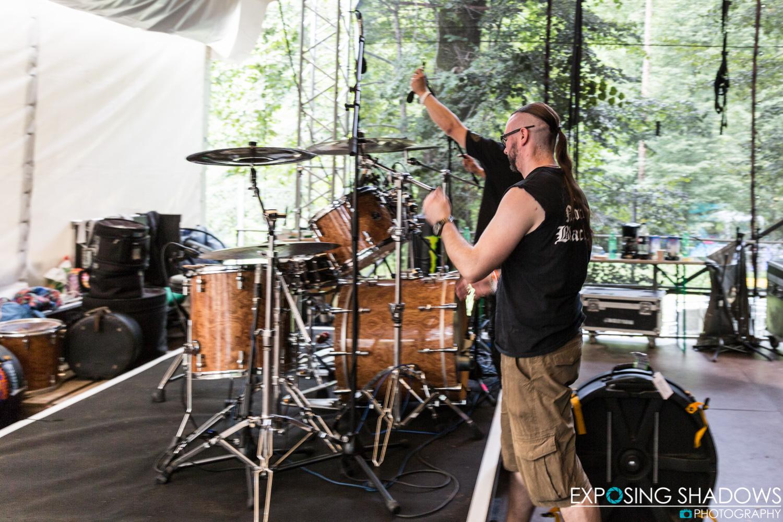 The Crawling Metal Days - Drum Kit Preparations