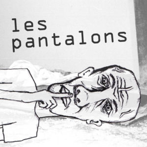 les pantalons anybody dancing ep cover