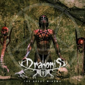 Drakonis The Great Miasma EP Cover