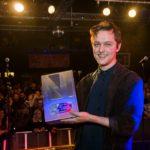 joshua burnside with northern ireland music prize 2017 carrie davenport