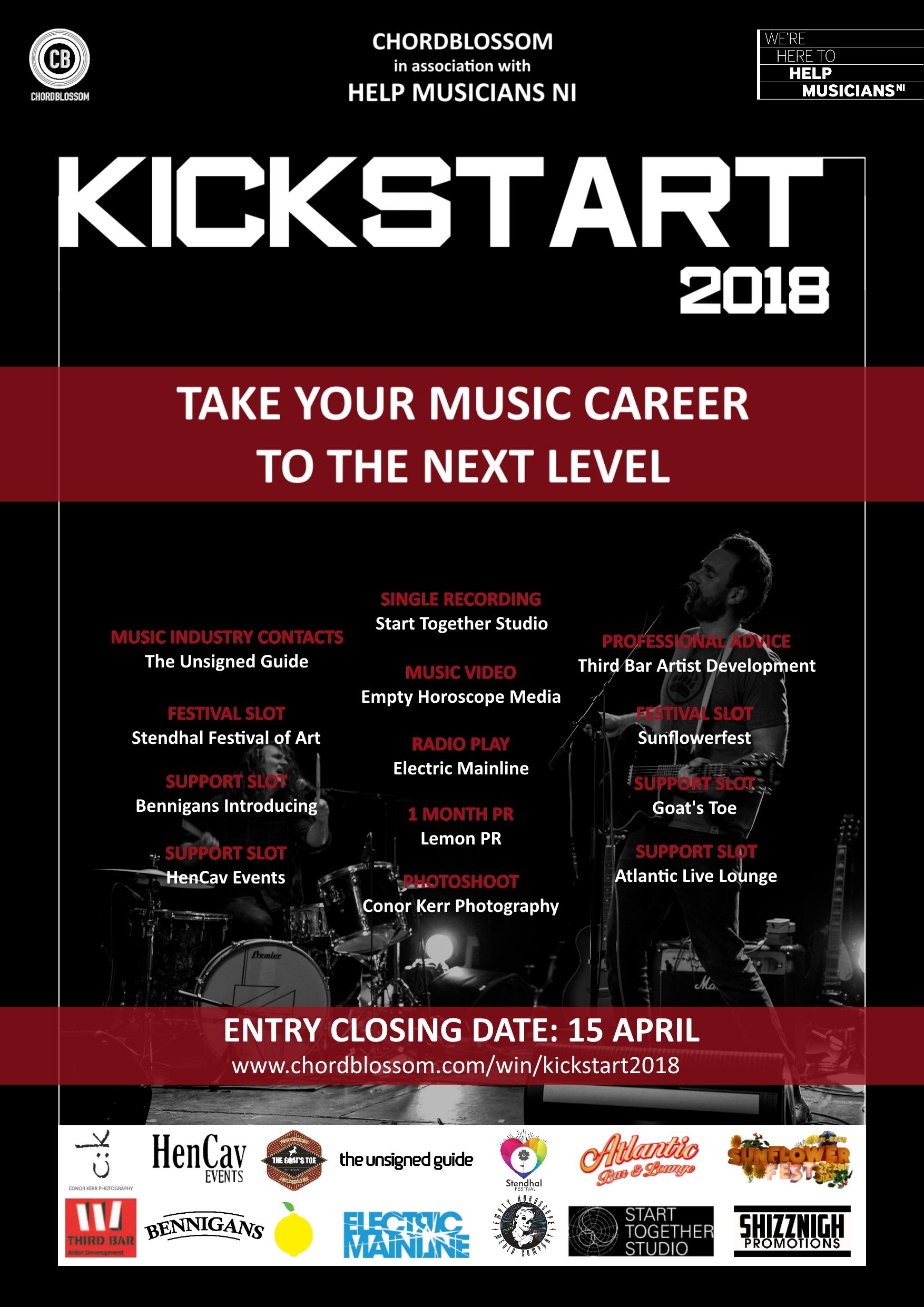 Chordblossom Kickstart 2018 poster