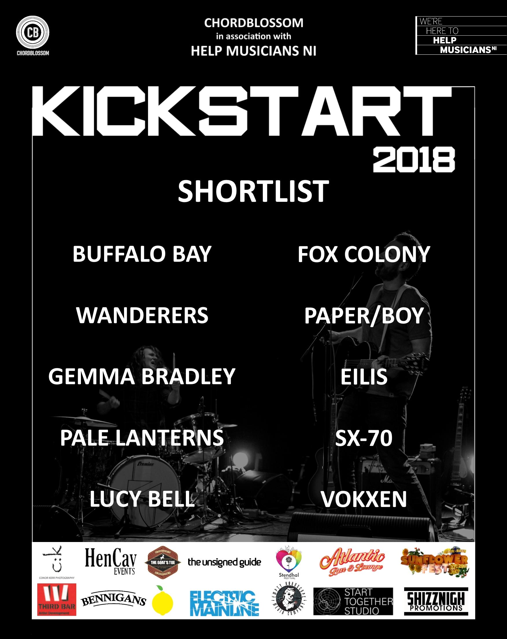 kickstart 2018 shortlist poster