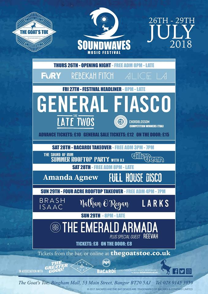 soundwaves festival 2018