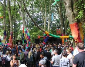 Stendhal Festival 2018 Crowd Shot Woodland