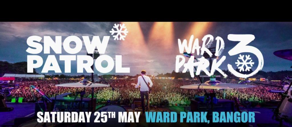 Snow Patrol festival hats Ward Park Bangor