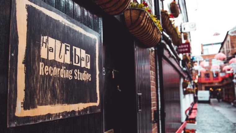 Half Bap Recording Studios - Photography by Ciara McMullan