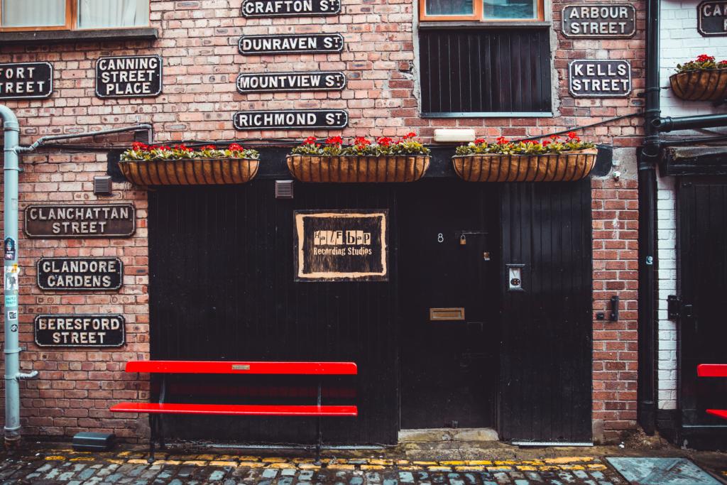 Half Bap Studios Front Entrance