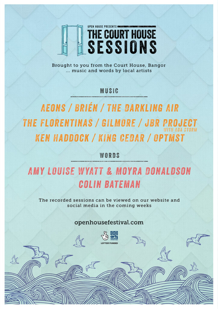 Open House Presents The Court House Sessions Poster